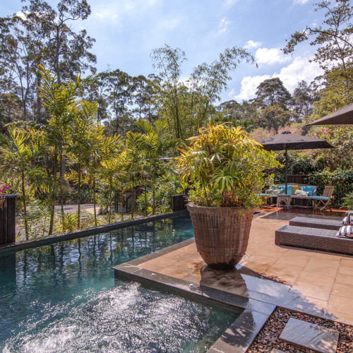 Your Private Tropical Oasis Awaits with 2 Spectacular Homes on 4 Acres!